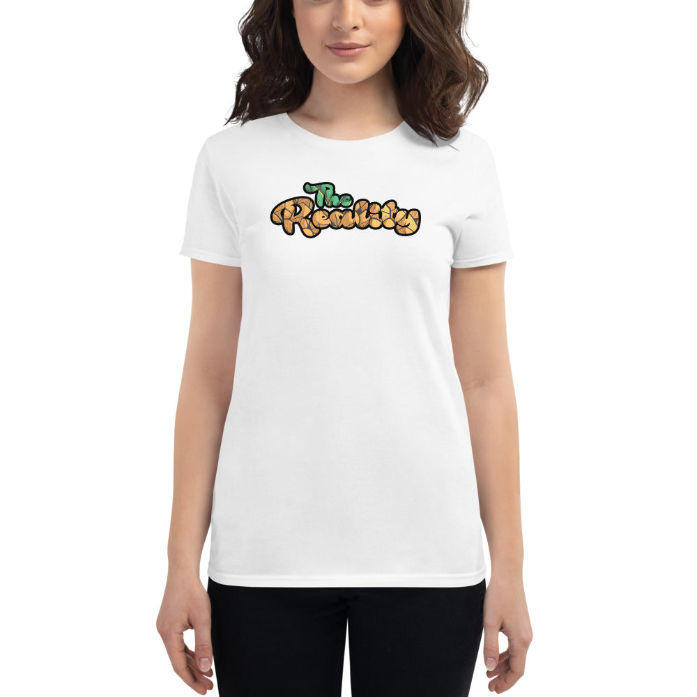 The Reality Text Logo Women's T-Shirt