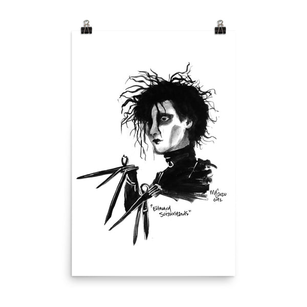"""Edward"" Prints 
