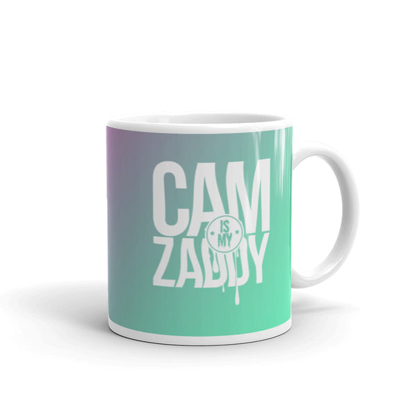 CAM IS MY ZADDY Gradient Mug - Neon | Painkiller Cam