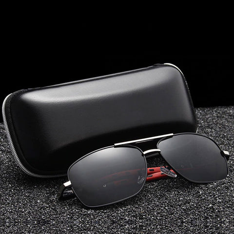 Polarized Aluminum Aviator - Size Wide - Eyewear Glasses Store