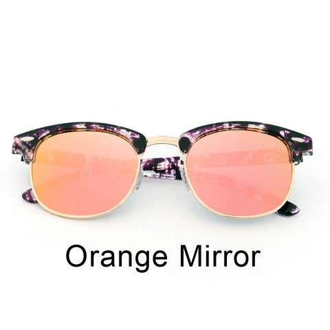 Retro Club Style Frame - Size Medium - Eyewear Glasses Store