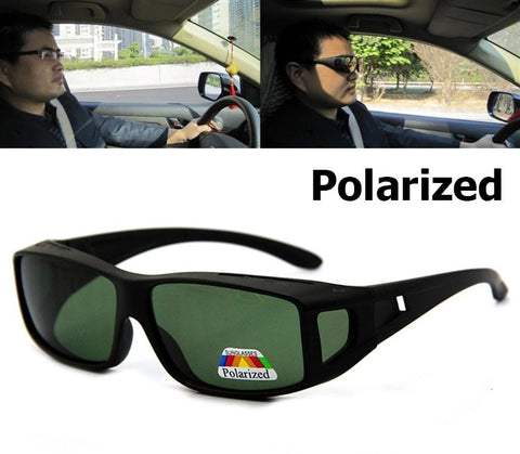 Polarized Cover Over - Size Extra Wide - Eyewear Glasses Store