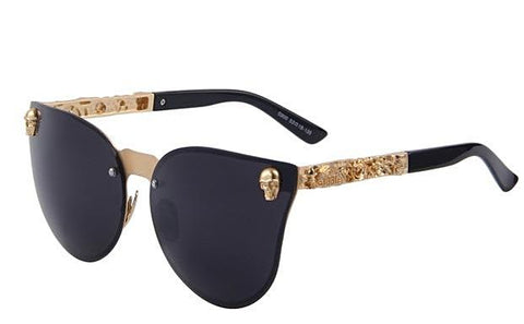 Image of High Fashion Gothic Skull - Size Wide - Eyewear Glasses Store