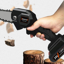 Load image into Gallery viewer, Mini Battery-Powered Chainsaw