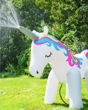 Load image into Gallery viewer, Gigantic Unicorn & Elephant Backyard Sprinkler