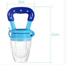 Load image into Gallery viewer, Baby Food Feeder Teeth Pacifier