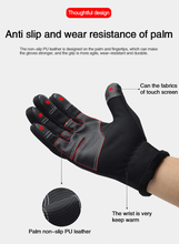 Load image into Gallery viewer, Unisex Winter Warm Waterproof Touch Screen Gloves