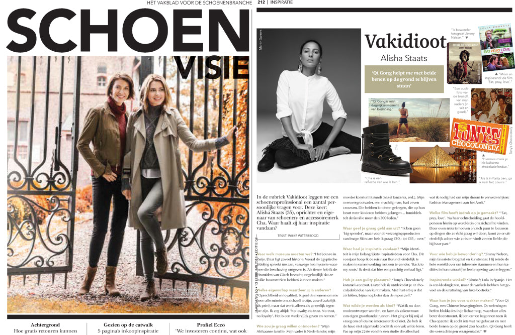 CHA mentioned in the Schoenen Visie