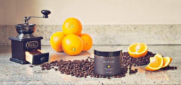 Mokosh Body Salt Scrub - Coffe & Orange
