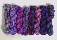 Loreley Scarf Kit - Purple Rain