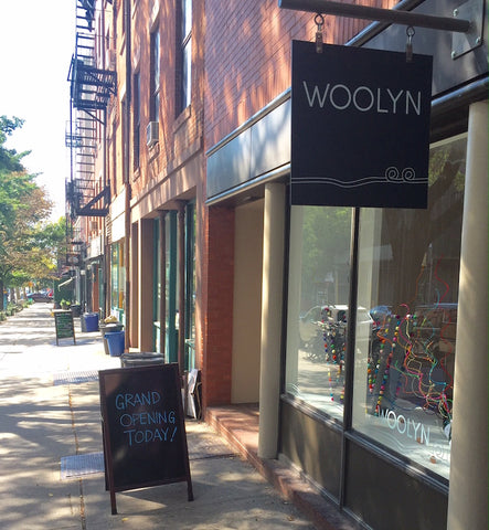 Woolyn - a new yarn store in Brooklyn Heights
