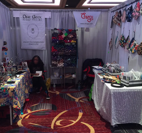 Our Sophomore Year at Vogue Knitting Live | Chiagu Patterns