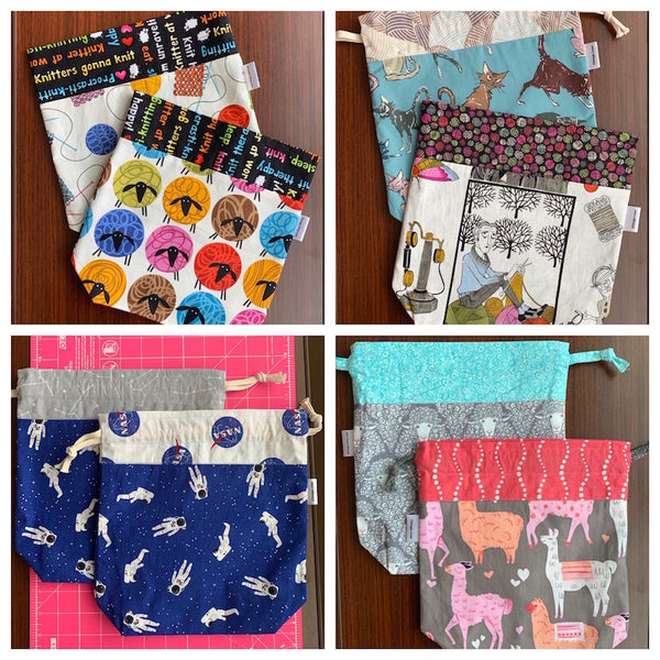 Drawstring Project Bags (Wholesale Reorder)