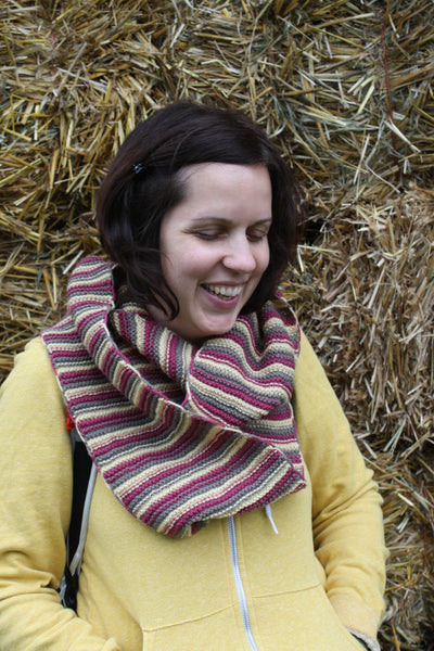 City Cowl & Infinity Scarf Knitting Pattern
