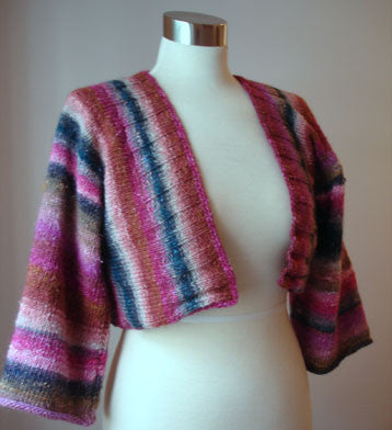 Halfobi Cardigan Knitting Pattern
