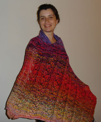 Tramonto Shawl Knitting Pattern