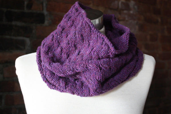 Broome Street Cowl Knitting Pattern