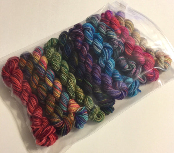 Chiagu 10 pack 25 yard Koigu mini skeins2