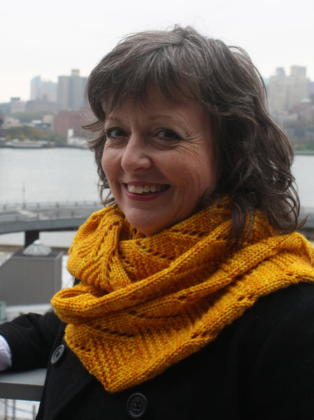 Chamomile Infinity Cowl/Scarf Knitting Pattern