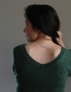 Vee Pullover Knitting Pattern