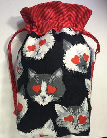 Lovestruck Cats Project Bag