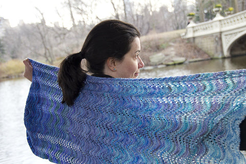 Onda Shawl Knitting Pattern