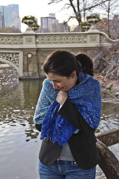 Onda Shawl Pattern