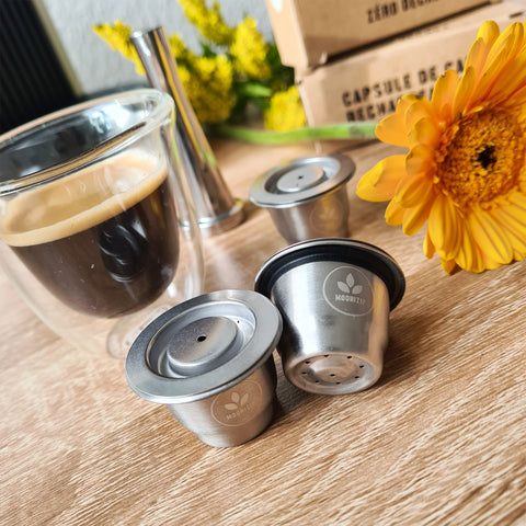 Capsules Nespresso rechargeables