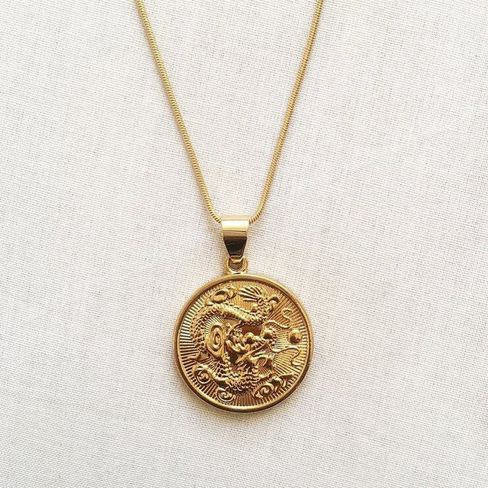 DRAGON MEDALLION