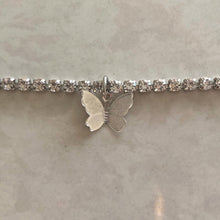 Load image into Gallery viewer, Icy Butterfly Choker