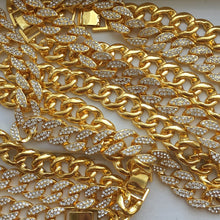 Load image into Gallery viewer, Gold Cuban Choker