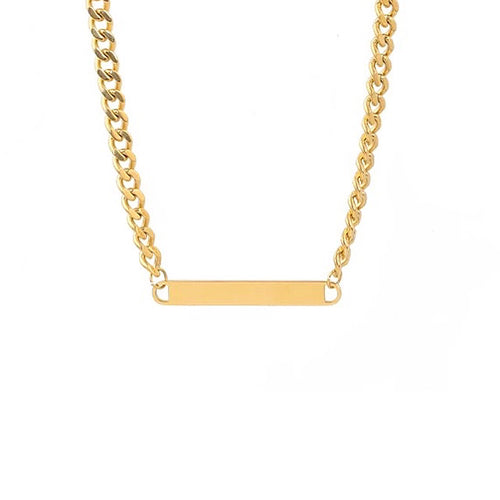 Bar of Gold Chain