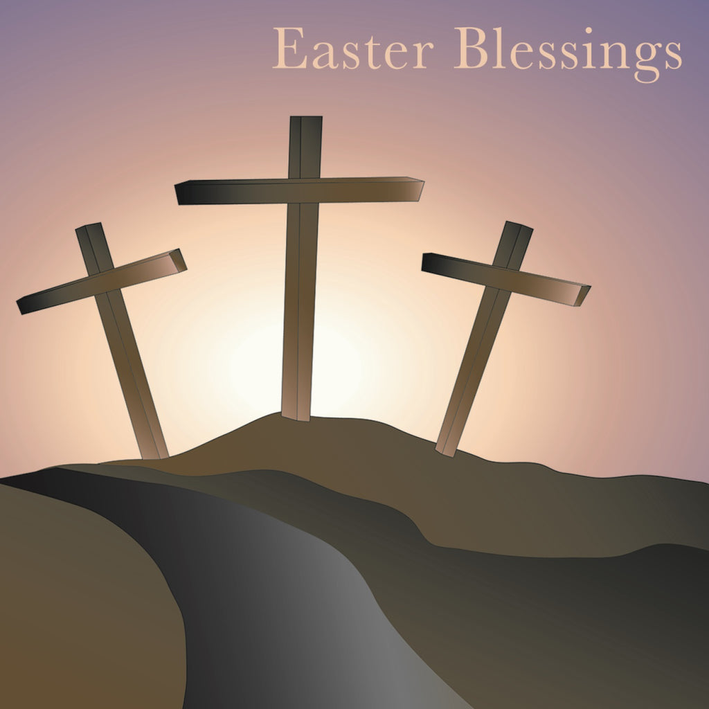 Easter cards - 1. Easter Blessings (Pack of 6 cards)