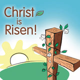 Easter cards - 2. Christ is Risen (Pack of 6 cards)