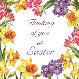 Easter cards - 4. Spring Flowers (Pack of 6 cards)