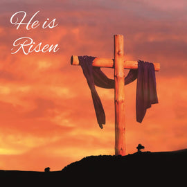 Easter cards - 5. He is Risen (Pack of 6 cards)