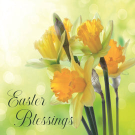 Easter cards - 6. Daffodils (Pack of 6 cards)