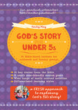 God's Story for Under 5s: 36 Bible-based sessions for midweek and Sunday groups