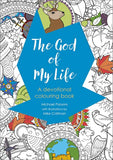 The God of My Life: A devotional colouring book