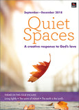 Quiet Spaces September-December 2018: A creative response to God's love