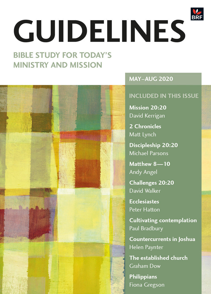 Guidelines May-August 2020: Bible study for today's ministry and mission