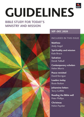 Guidelines September-December 2020: Bible study for today's ministry and mission