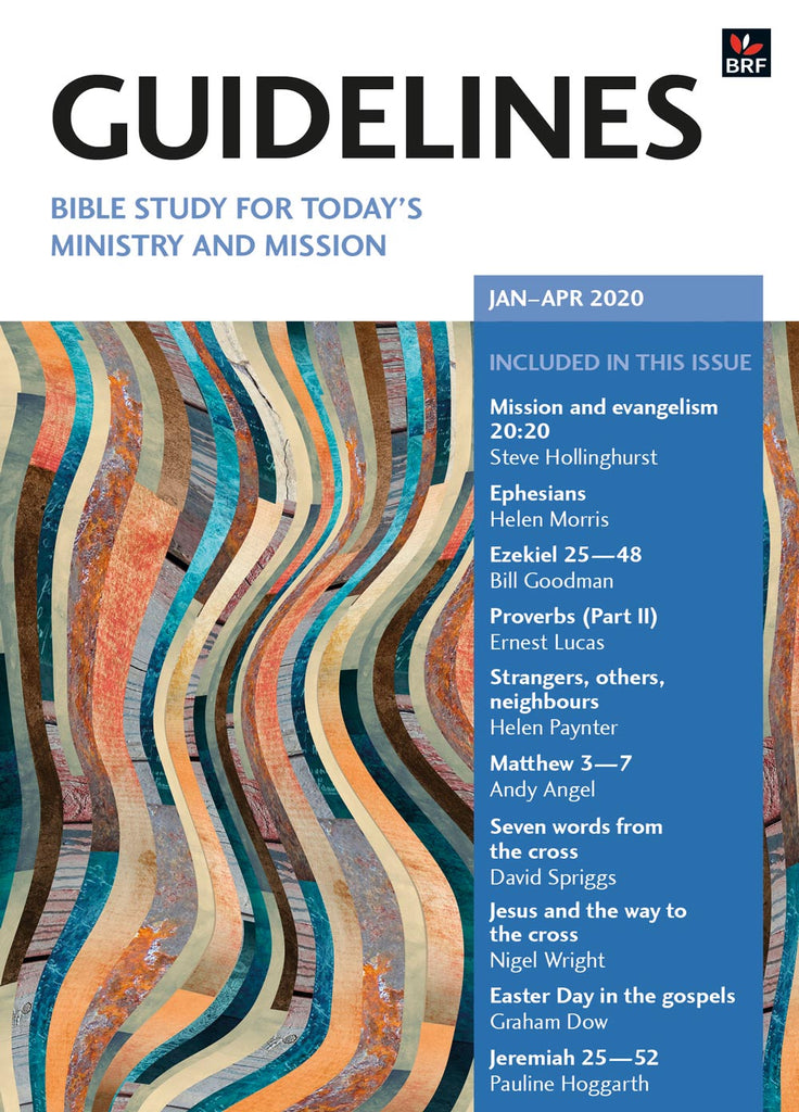 Guidelines January-April 2020: Bible study for today's ministry and mission