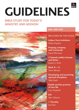 Guidelines January-April 2021: Bible study for today's ministry and mission
