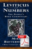 The People's Bible Commentary - Leviticus and Numbers: A Bible commentary for every day