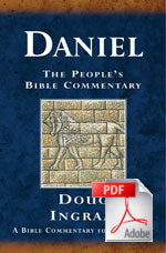 The People's Bible Commentary - Daniel: A Bible commentary for every day