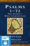 The People's Bible Commentary - Psalms 1-72: A Bible commentary for every day