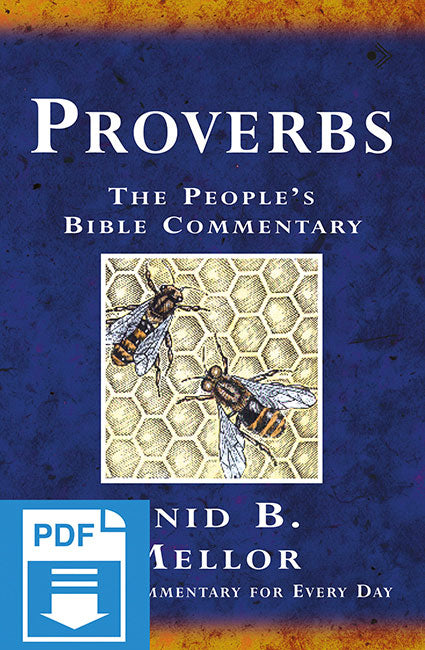 The People's Bible Commentary - Proverbs: A Bible commentary for every day