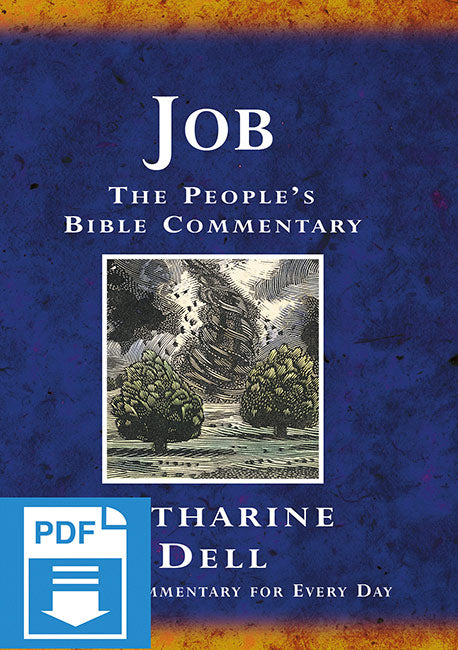 The People's Bible Commentary - Job: A Bible commentary for every day