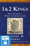 The People's Bible Commentary - 1 & 2 Kings: A Bible commentary for every day